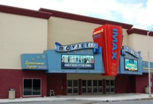 Front of Reading IMAX Theatre