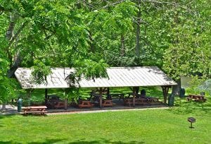 Picnic Pavilion at the Berks Leisure Area