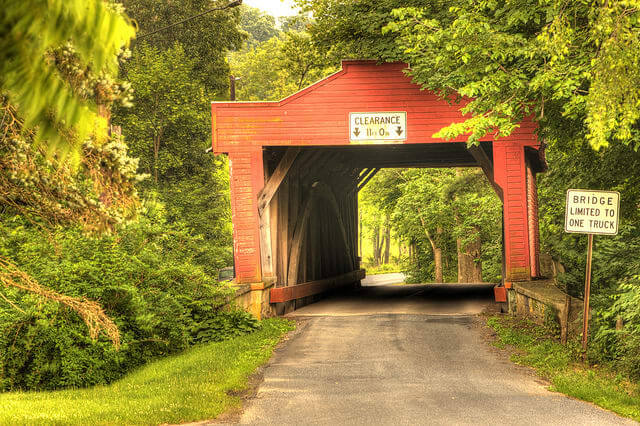 Visiting the covered bridges of Berks County, Pennsylvania
