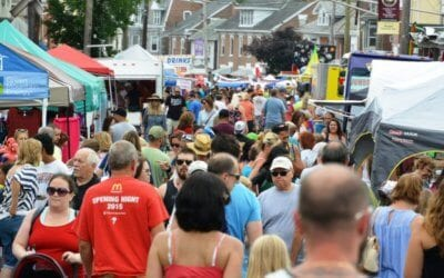 The Philadelphia Avenue Street Fair in Boyertown, Berks County