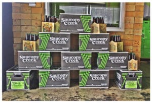 Saucony Creek Cases of Beer