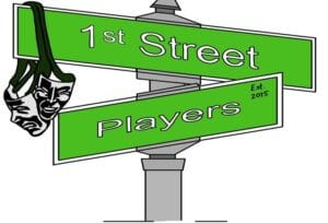 logo for The 1st Street Players
