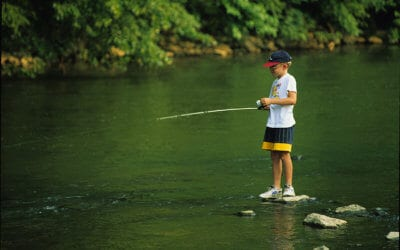 Teaching Your Kids to Fish