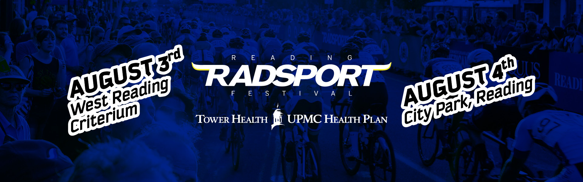 Advertisment for the Reading Radsport Bike Festival which takes place on August 3rd & 4th 2019