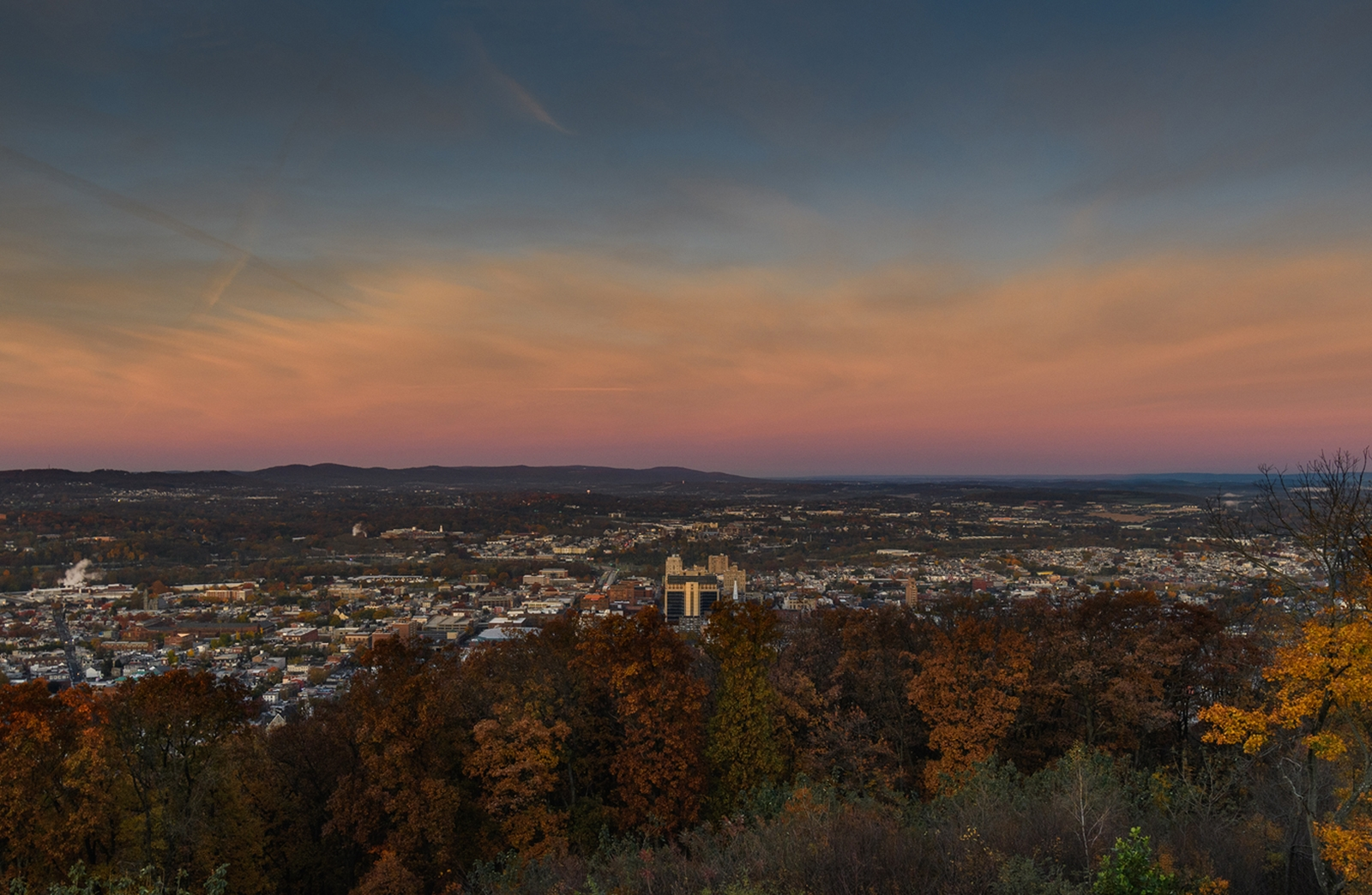 Berks County in Fall Colors