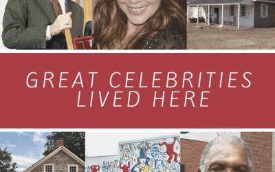 Great Celebrities Lived Here